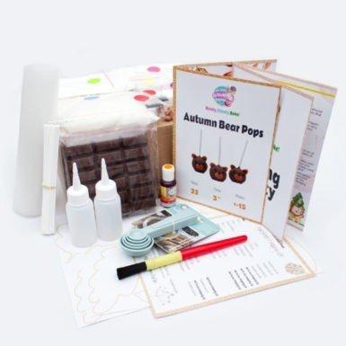 Autumn Bear Pops Baking Kit